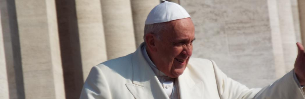 Inter-Religous Rome trip:  outdoor audience with Pope Francis
